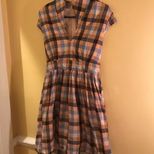 Plaid dress by French Connection